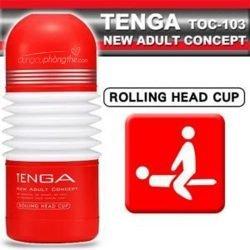 Âm đạo giả Tenga Rolling Head Cup