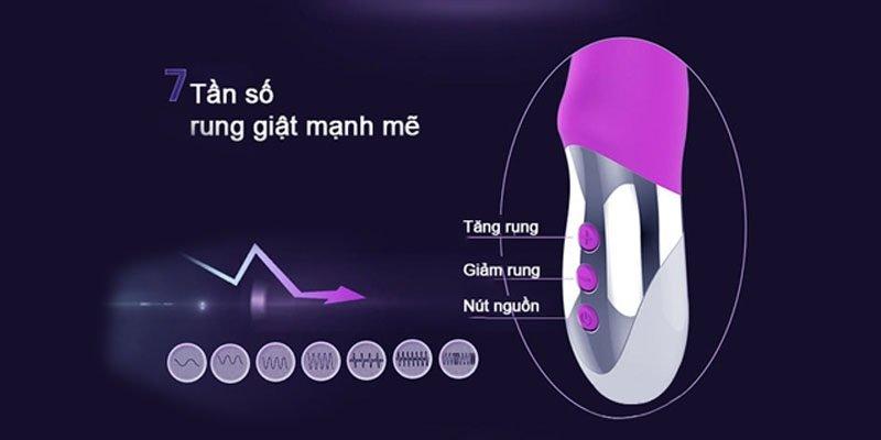 Chức năng máy massage điểm G XuaNai Magic siêu rung cho con gái mới lớn 1
