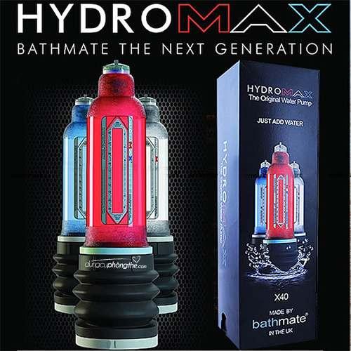Máy tập dương vật Hydromax cho nam giới to và dài cậu nhỏ