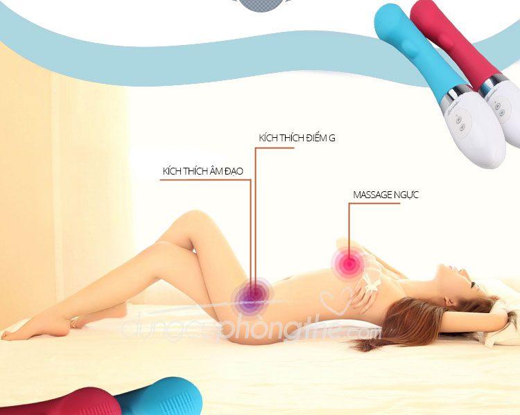 Hướng dẫn sử dụng đồ chơi tình dục nữ massage Loveaider Elves