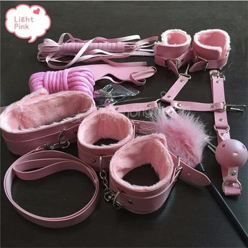 Bộ đồ chơi bạo dâm 10 món siêu tinh vi làm tình màu hồng