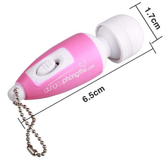 Thông tin chi tiết về máy massage điểm G mini móc khóa hưng phấn vô cùng