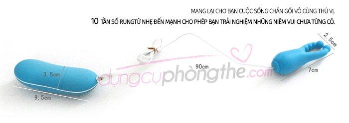 Máy rung điểm G Angel Baby với 10 chế độ rung mạnh nhẹ