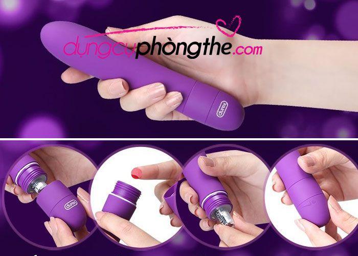 Cách sử dụng máy massage âm đạo Mini Durex Vibe V