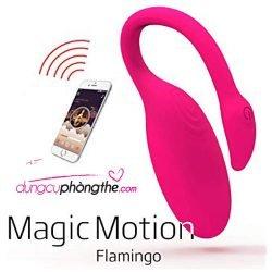 Trứng rung điều khiển bằng điện thoại Magic Motion Flamingo