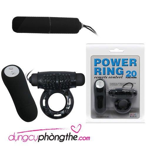 Vòng rung đeo cu Power Ring điều khiển từ xa