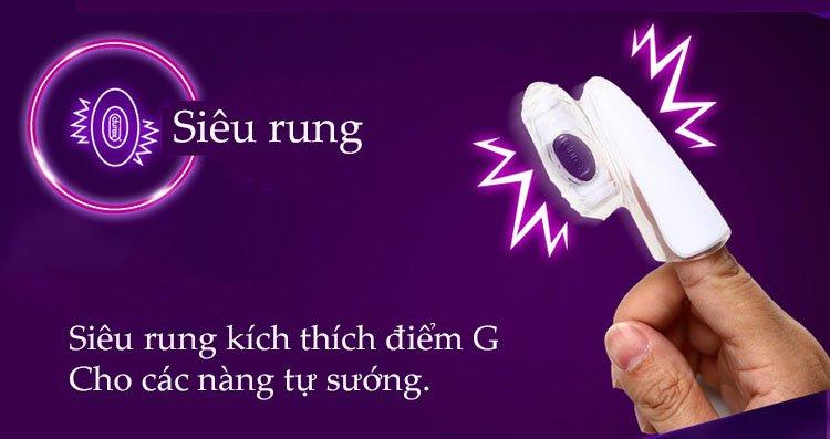 Cách sử dụng máy rung đeo ngón tay massage điểm G Durex Play Finger