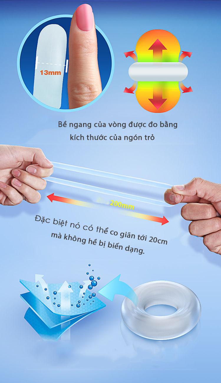 Hình ảnh vòng đeo dương vật silicon Lenten Super Cock