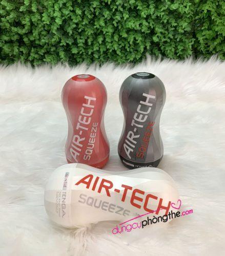 Hình ảnh thật cốc thủ dâm Tenga AirTech Queeze Made Japan