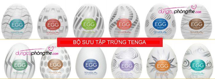 Trứng Tenga series sưu tầm