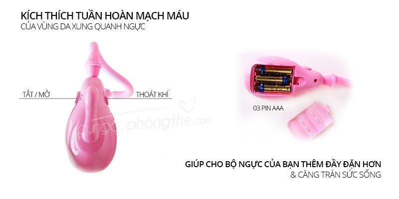 Kích thước máy hút ngực breast Pump căng tròn săn chắc
