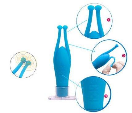 Máy massage điểm G 02 râu rung âm đạo chi tiết