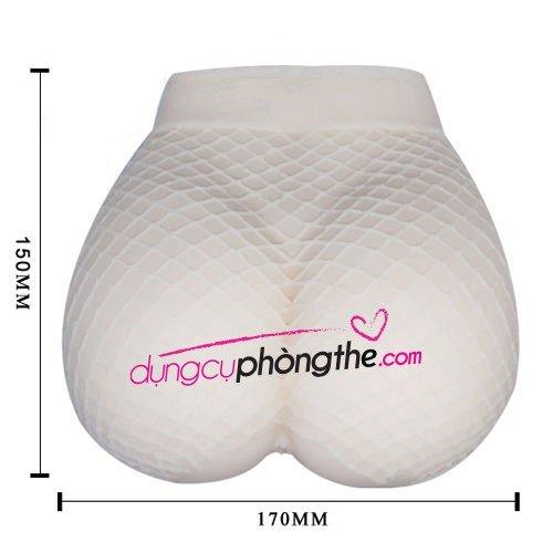 Kích thước âm đạo giả cao cấp rên la với mông gân lưới gợi dục
