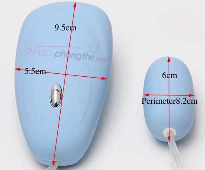 Thông tin chi tiết trứng rung âm đạo cho nữ sử dụng pin